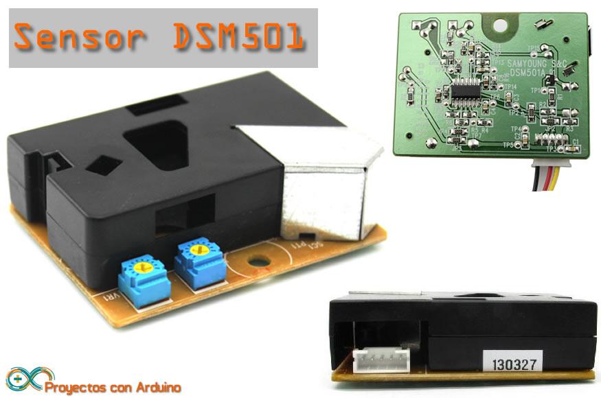 sensor de polvo SMD501