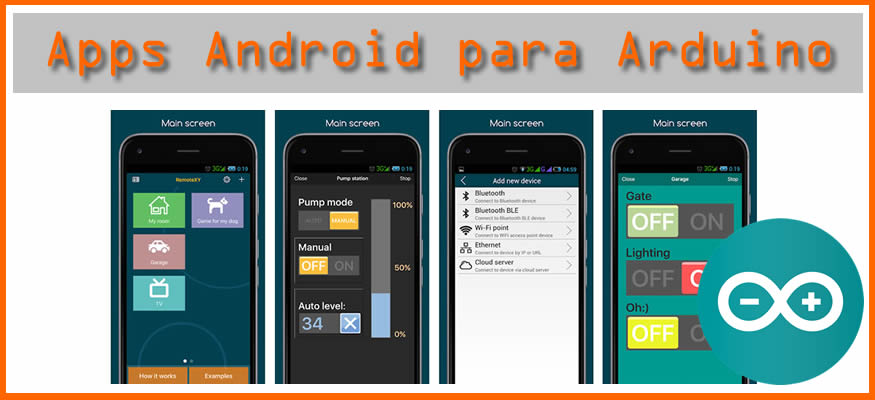 Apps Android para Arduino