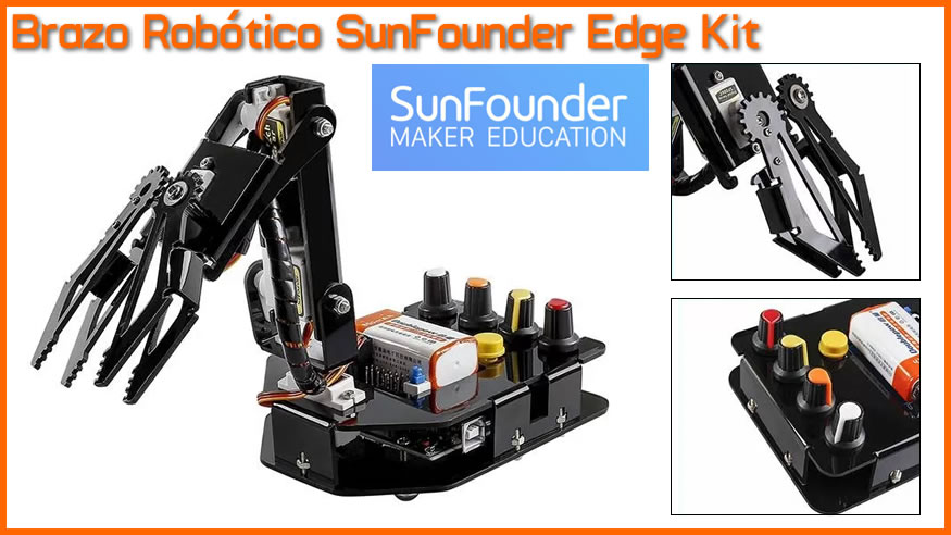 SundFounder Kit - Robotic Arm Arduino