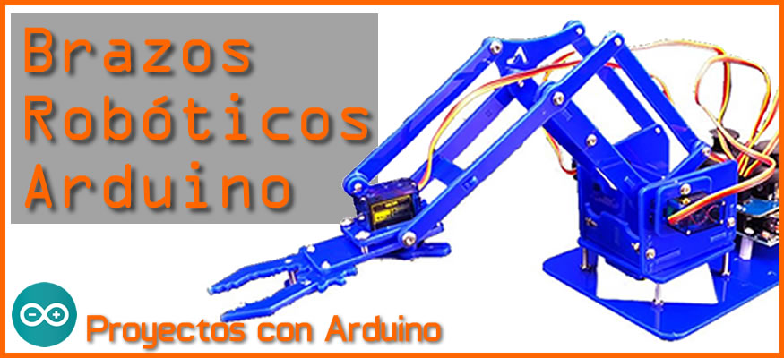 Brazos Robóticos para Arduino