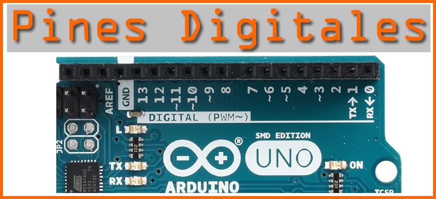 Pines Digitales en Arduino